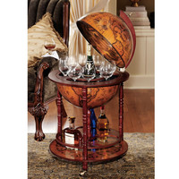 Design Toscano Sixteenth Century Italian Replica Globe Bar