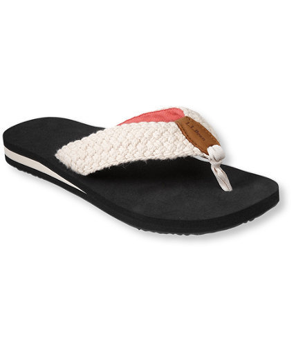 maine isle flip flops woven casual from l l bean inc epic