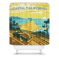 DENY Designs Home Accessories | Anderson Design Group Coastal California Shower Curtain