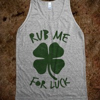 Rub Me For Luck (tank)