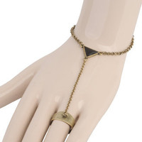 Triangle Ring Bracelet | FOREVER21 - 1000035814