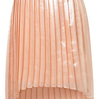 Tall Silk Shimmer Pleat Skirt - Tall  - Apparel  - Topshop USA