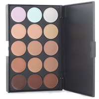 Amazon.com: New Professional 15 Concealer Camouflage Makeup Palette BuyinCoins: Beauty