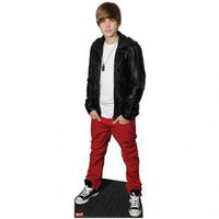 Advanced Graphics Justin Bieber cardboard Standup 1016