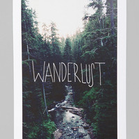 Leah Flores For Society6 Wanderlust Art Print