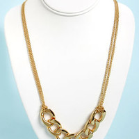 Chain-ge Your Mind Gold Chain Necklace