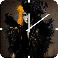 Deniz Ercelebi Crow Custom Clock