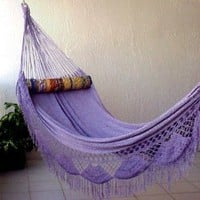 Amazon.com: Nicamaka Family Hammock, Lilac: Patio, Lawn &amp; Garden