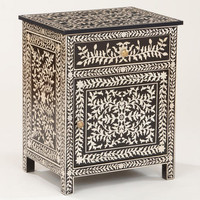 Kiran Faux Inlay Cabinet