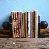 Art Deco wooden bookends