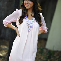 Easy, Breezy, Beautiful Dress: Light Pink | Hope's