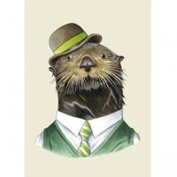 Corporate Portrait Print - Sea Otter - Fine Art