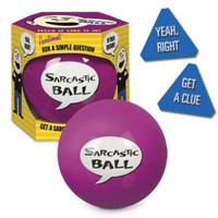 Sarcastic Ball from BaronBob.com