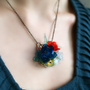 BOUQUET  Poéme et Temps  PET  plastic bottle jewellery by MIXKO