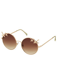 Swallow Trim Round Sunglasses - New In This Week - New In - Topshop