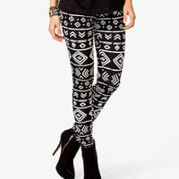 Tribal-Inspired Leggings | FOREVER21 - 2027704265