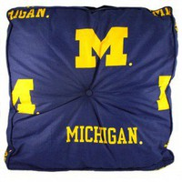 College Covers Michigan Floor Pillow - MICFP