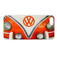 Retro Orange Volkswagen Vw Apple iPhone 5 Case