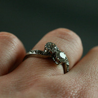 1910 Antique Diamond Twist Engagement Ring by Ruby Gray's | Ruby Gray's