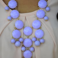 The Pale Purple Crew Necklace | Hope's