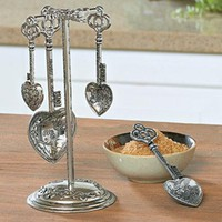 Engraved Measuring Spoons @ Fresh Finds