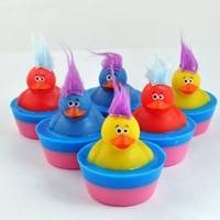 Troll Rubber Duck Soap by pinkparchmentsoaps on Etsy