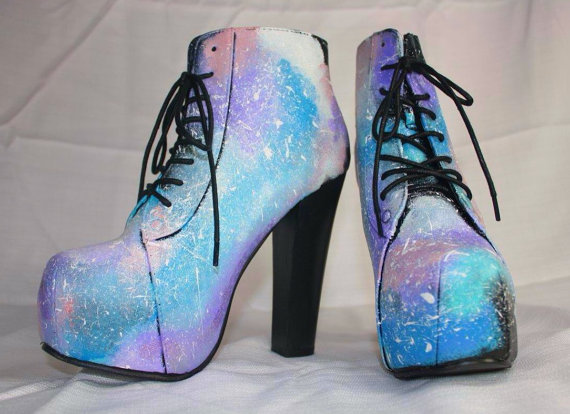 jeffrey campbell lita style galaxy print from ohtabbycatz on etsy. Black Bedroom Furniture Sets. Home Design Ideas