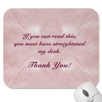If You Can Read This... Mousepad from Zazzle.com