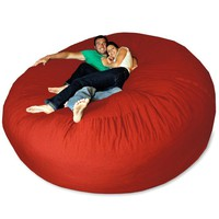 Pebble Giant Bean Bag Chair at BrookstoneBuy Now!