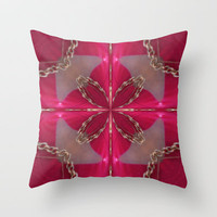 Slave to love  Throw Pillow by Baggieoldboy