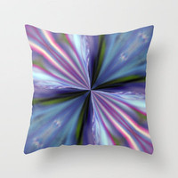 Mother of Pearl Throw Pillow by Baggieoldboy