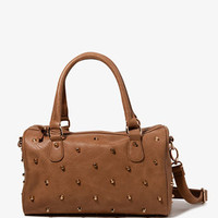 Studded Boston Bag