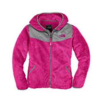 Amazon.com: The North Face Girls Oso Hoodie Razzle Pink: Clothing