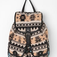 Ecote Sun-Faded Geometric Backpack