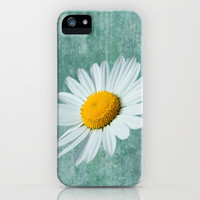 Daisy Head iPhone Case by Alice Gosling | Society6