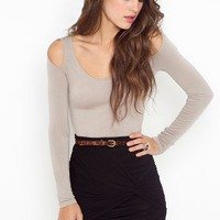 Ruched Knot Skirt - Black in Clothes at Nasty Gal