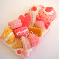 Love Pink Candy iPhone 4G/4S Case by GuiltyFreeCandy on Etsy