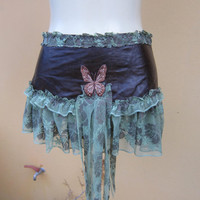 vintage inspired foresty belt/tutu/skirt by wildskin on Etsy