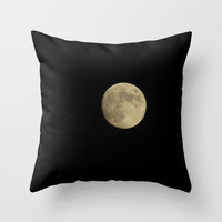 La Luna Throw Pillow by Gwynstone Originals
