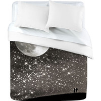 Shannon Clark Love Under The Stars Duvet Cover - Luxe Duvet Cover /