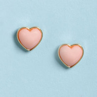 Party Heart-y Pink Heart Earrings