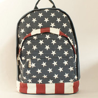 TuT TuT Fashion — Vintage canvas backpack