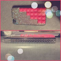 bling iphone 4 case with...