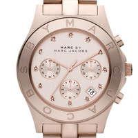 MARC BY MARC JACOBS &#x27;Blade&#x27; Crystal Index Watch | Nordstrom