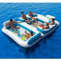 Amazon.com: Blue Lagoon Floating Island: Sports &amp; Outdoors