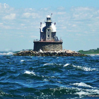 Lighthouse Photography 5 X 7   Race Rock by TheRightJack on Etsy