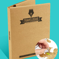 Scratch Map Travel Journal