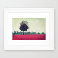 springtime Framed Art Print by Claudia Drossert | Society6