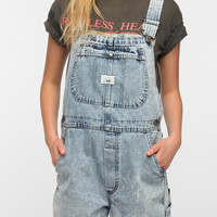 Urban Renewal Acid Wash Overall Romper