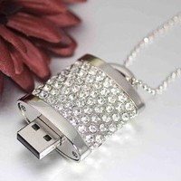 Amazon.com: High Quality 8gb Lock Jewelry USB Flash Memory Drive Necklace: Computers &amp; Accessories